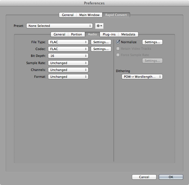 Sound Grinder Pro | Advanced audio and metadata batch conversion and